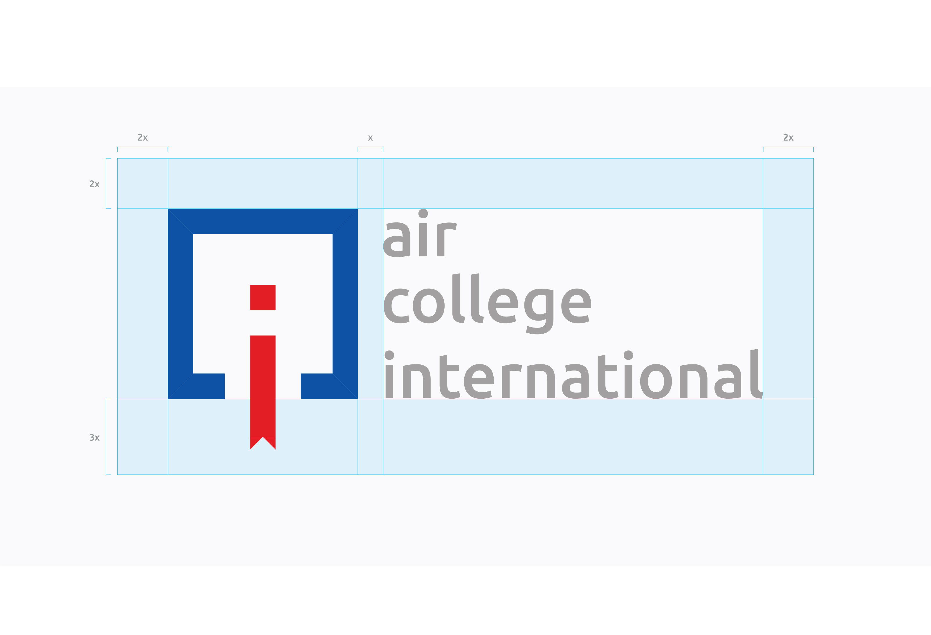 Air College International - Brand combination mark