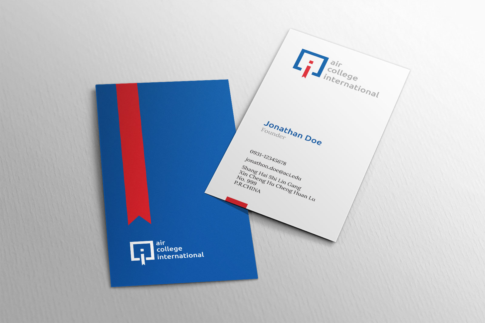 Air College International - Business Cards