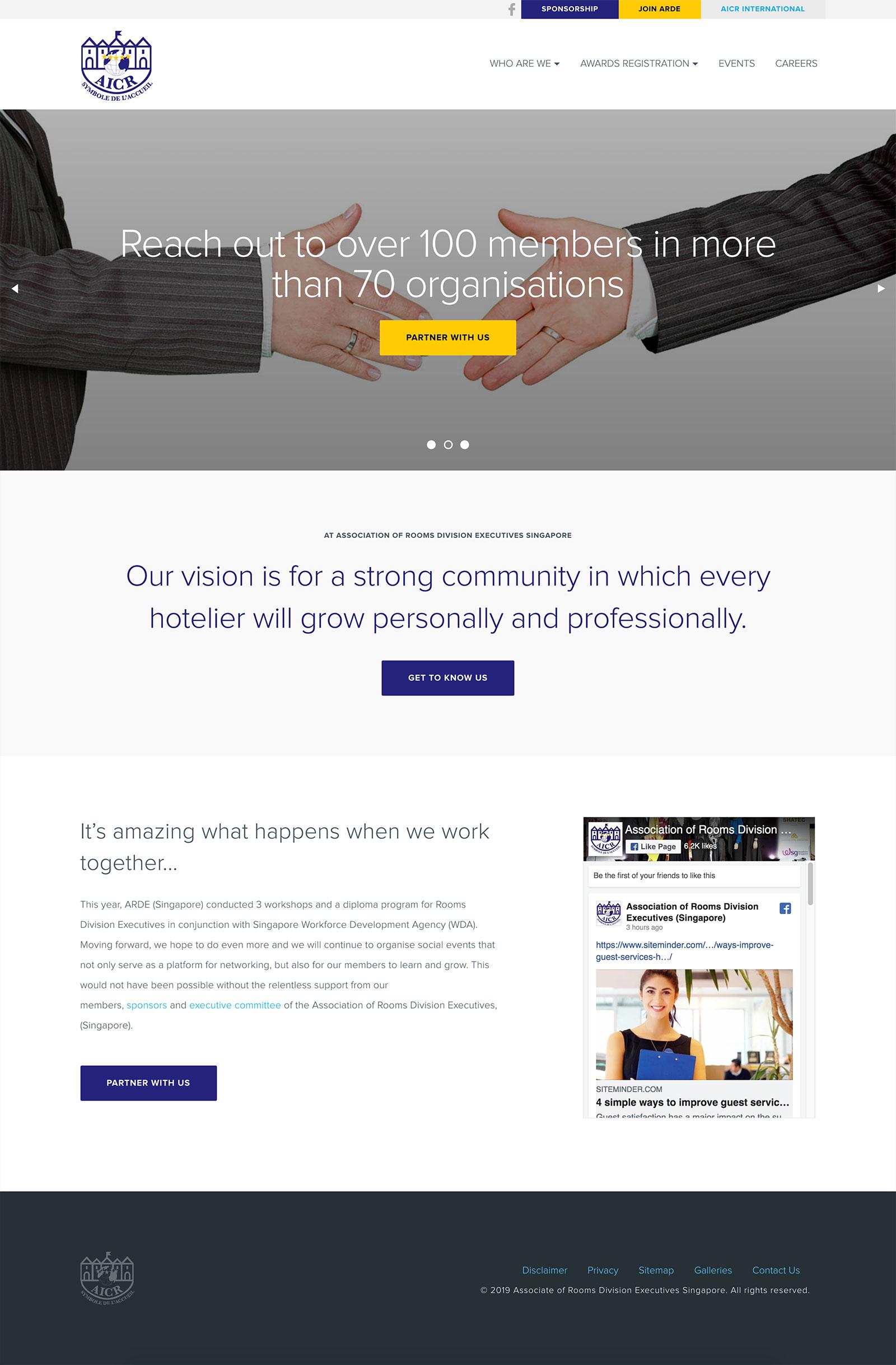 AICR Singapore - Homepage