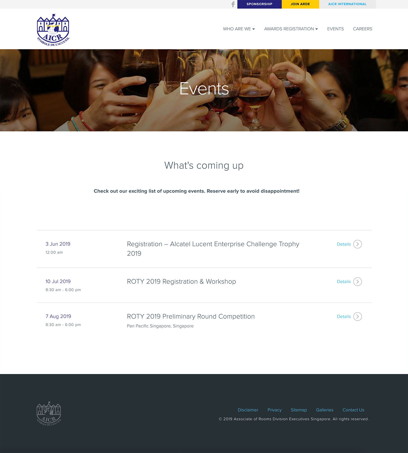 AICR Singapore - Events