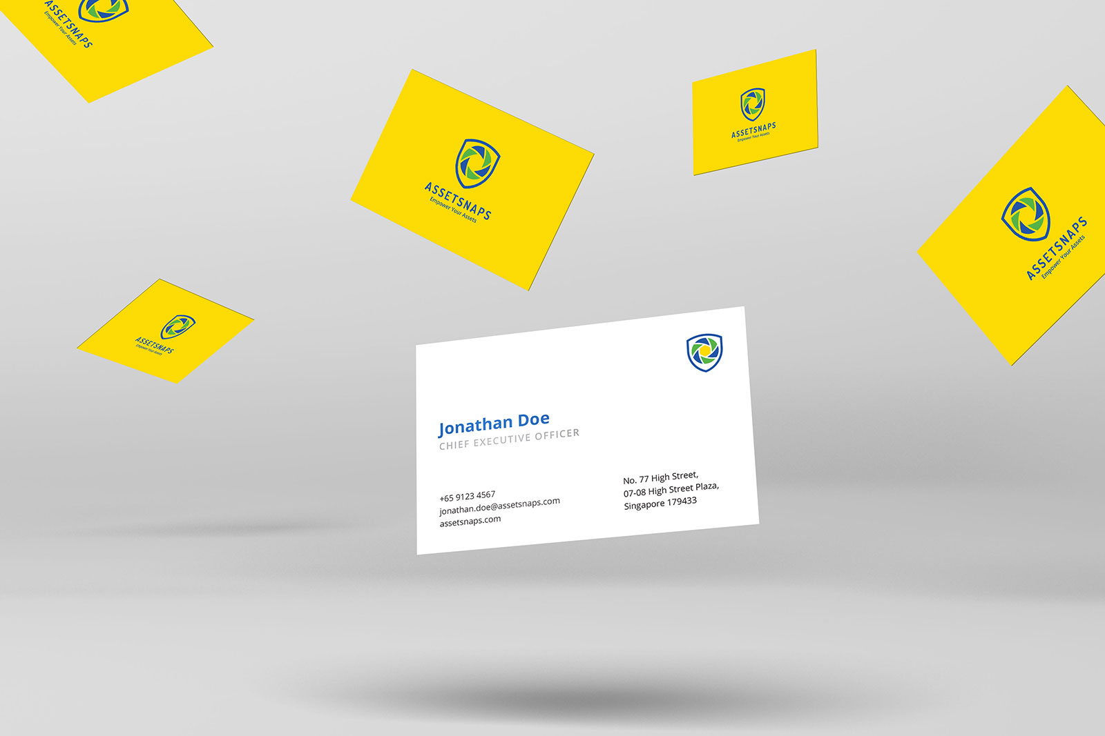 Asset Snaps - Business Card Perspective 2