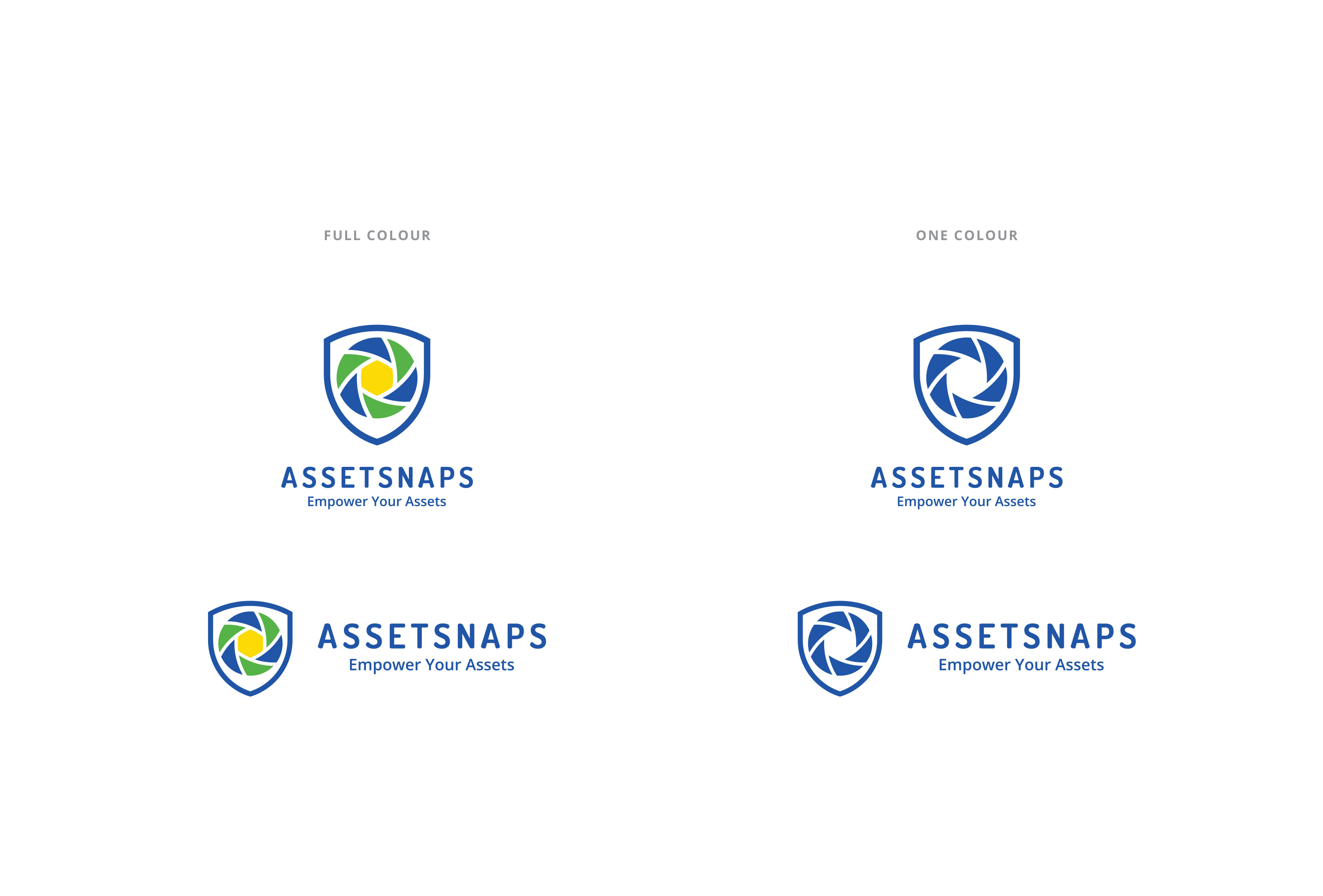 Asset Snaps - Full Colour (4C) and One Colour (1C)