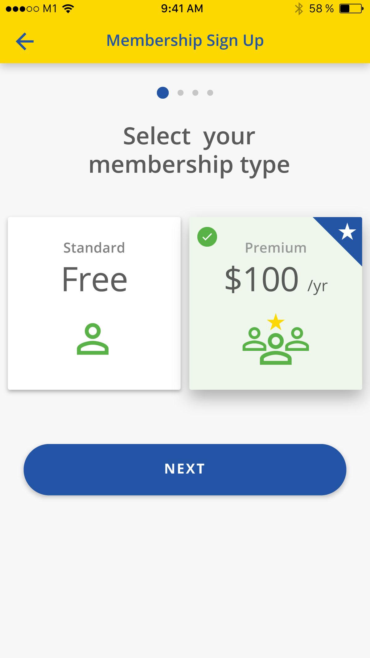 Asset Snaps - Membership Type