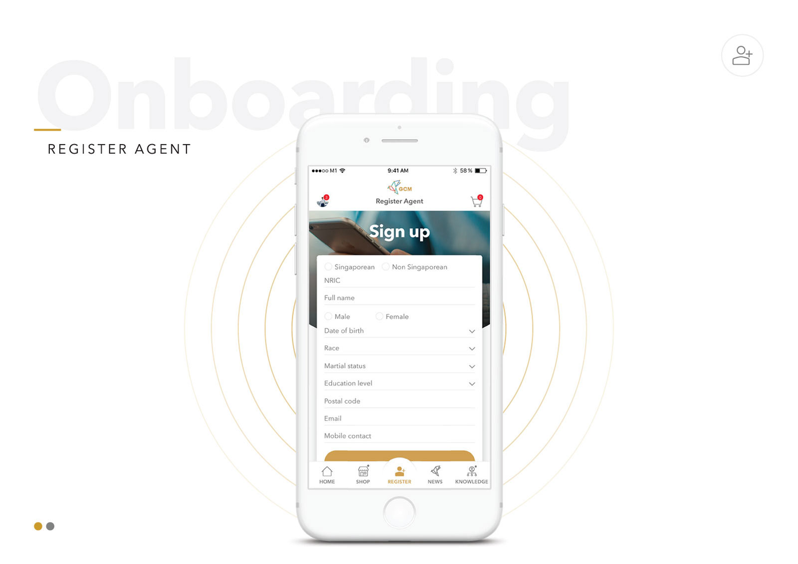 Global Connect Marketplace - Onboarding