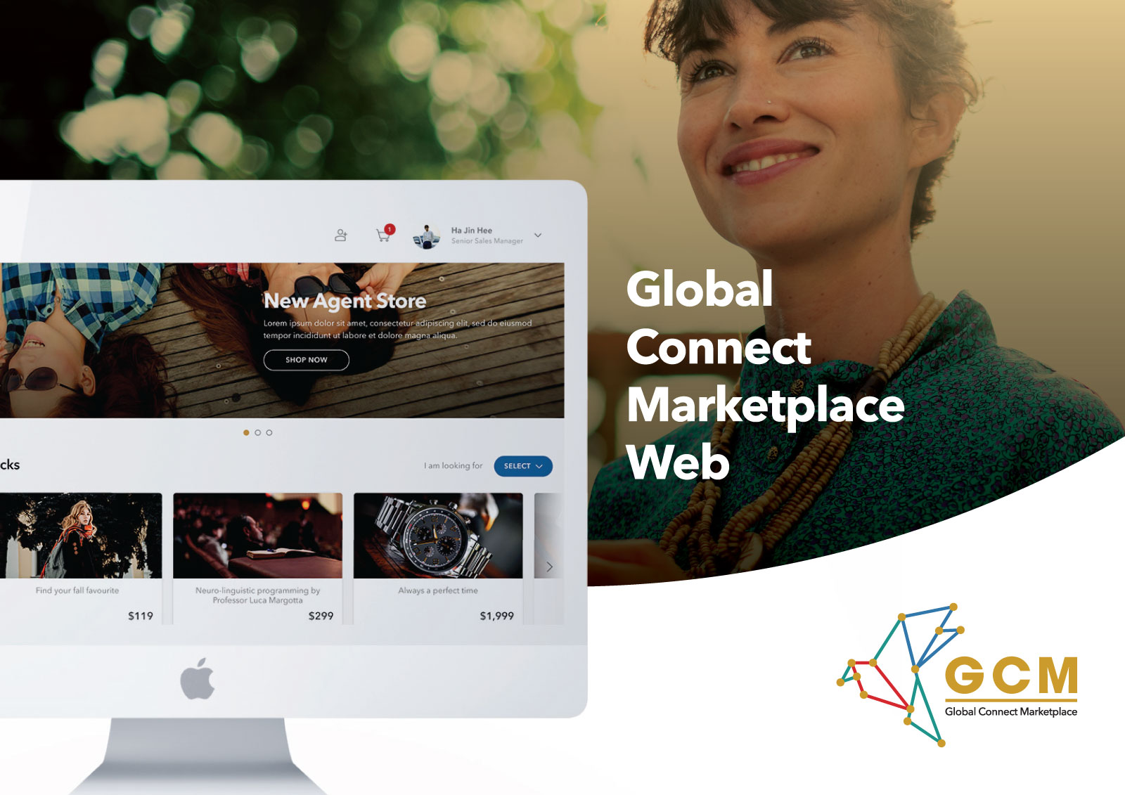 Global Connect Marketplace - Web UI Design